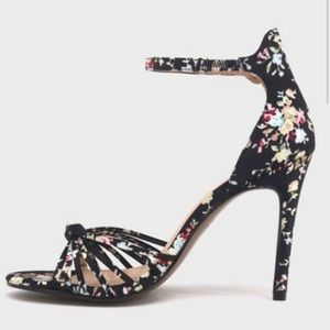 Who what wear truth floral knotted stiletto heels